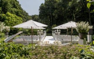Huwelijksceremonie In Tuin, Toptrouwlocatie boek, wedding en planning, Weddingplanner, landgoed het Roode Koper