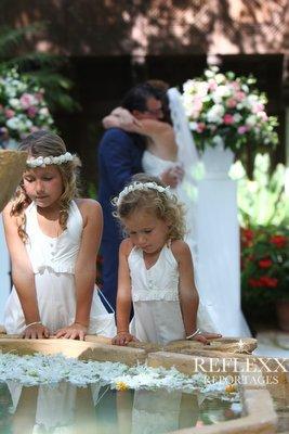De kus na het ja woord,Huwelijksceremonie in Spanje, Trouwen in Marbella, wedding en planning, weddingplanner, foto Reflexx Reportages