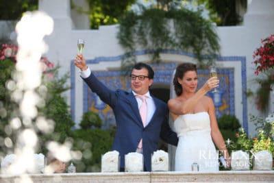 Toost van het bruidspaar, Trouwen in Spanje, Wedding en Planning, weddingplanner, foto Reflexx Reportages