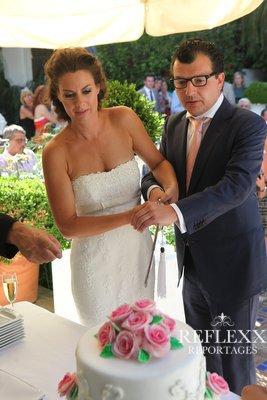 Bruidstaart aansnijden, wedding en planning, weddingplanner, foto Reflexx Reportages