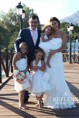 Trouwen in Spanje, wedding en planning, weddingplanner,foto Reflexx Reportages