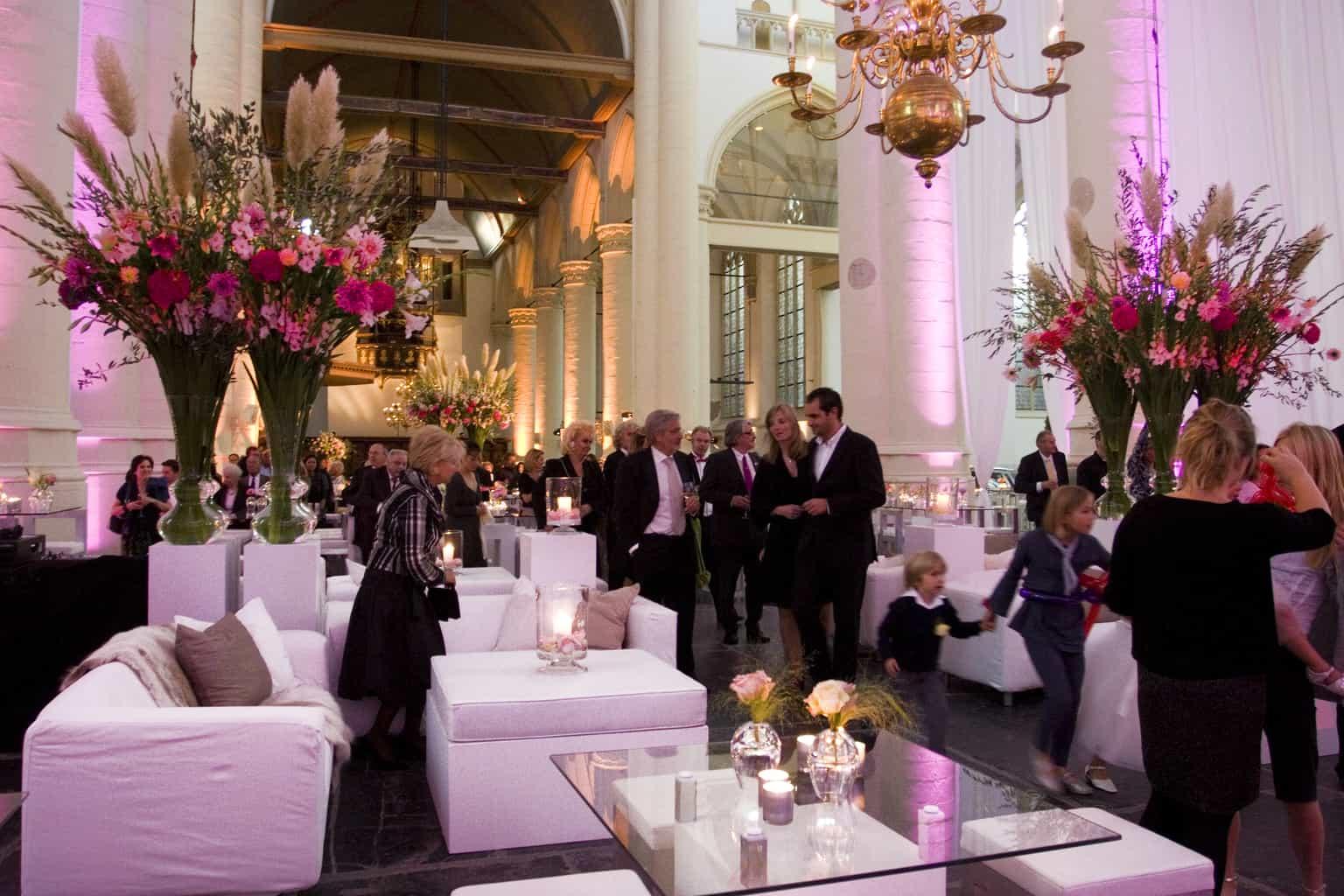 Huwelijksfeest in de Hooglandse kerk in Leiden, wedding en planning, Weddingplanner, fotocredits Sjouke Dijkstra