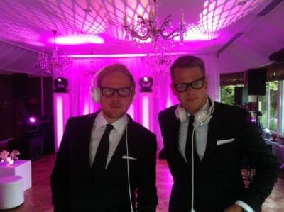 DJ Victor en Rolf, Artist en Planning, Wedding en Planning, weddingplanner
