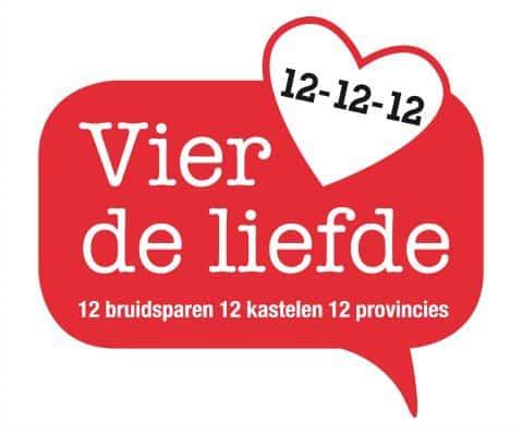 Vier-de-liefde-12-12-12, 12 stellen trouwen op 12 december 2012 op twaalf plaatsen in Nederland om 12.12 uur, bruid en bruidegom , joanne Littooij, weddingplanner, wedding en planning