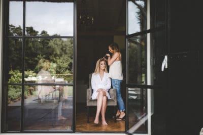 Wedding en Planning, weddingplanner, bruid in de visagie, visagie en haarstyling op je trouwdag, fotocredits Laura Möllemann