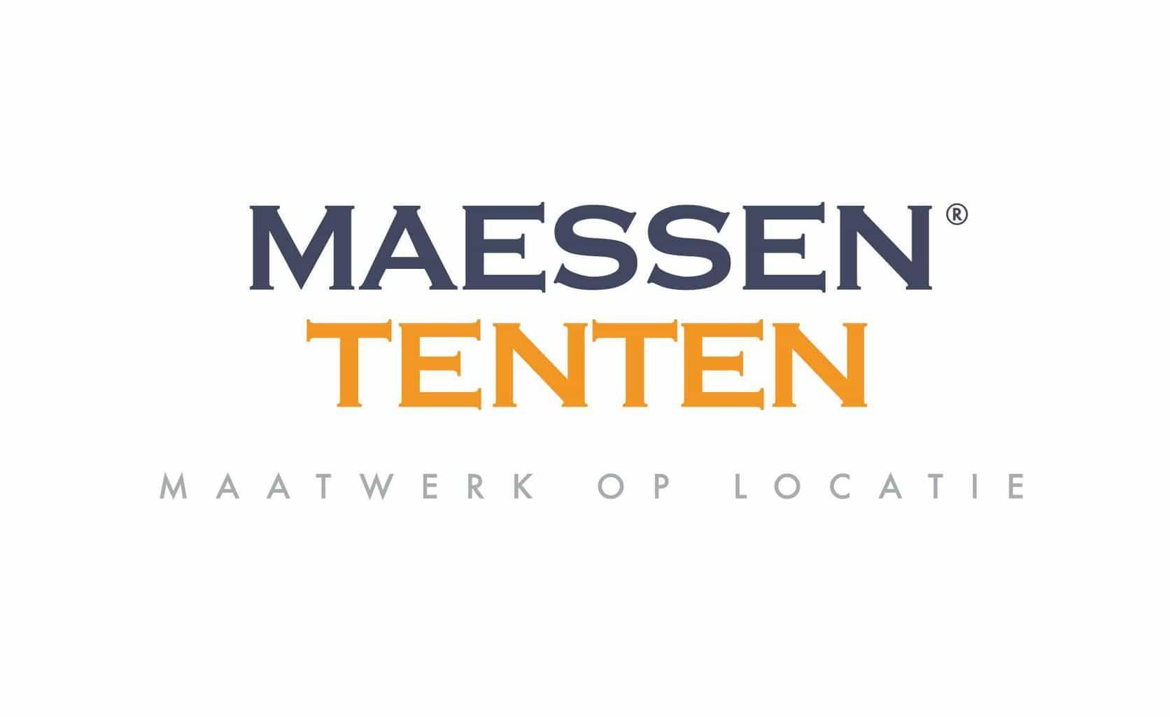 logo Maessen tenten, trouwen, stijlvolle tenten op je huwelijken, trouwen en tent, trouwen in een tent, feesten in een tent