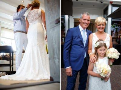 Bruiloft Caroline Tensen en Ernst Jan Smids op Vlieland , Evert Doorn Fotografie, wedding en planning, weddingplanner